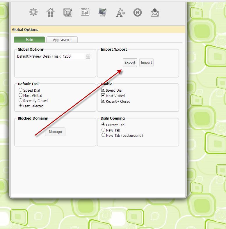 Everhelper - How to make backup in FVD Speed Dial for Google