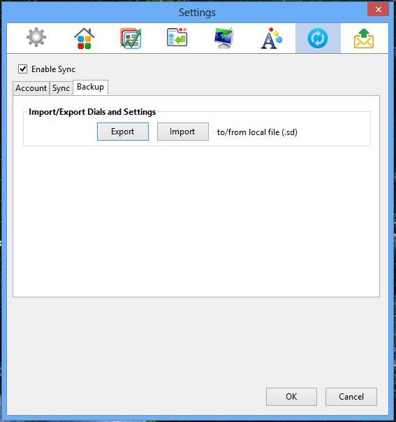 Everhelper - How to make backup in FVD Speed Dial for